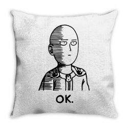 ok hero (2) Throw Pillow | Artistshot