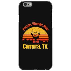 trump person woman man camera tv vintage iPhone 6/6s Case | Artistshot