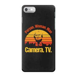 trump person woman man camera tv vintage iPhone 7 Case | Artistshot