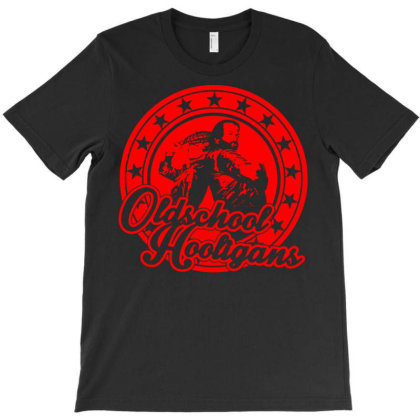 Oldschool Hooligans 1 T-shirt Designed By Ismi
