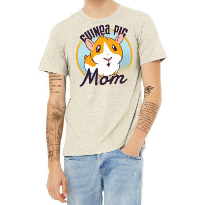 Guinea Pig Mom Heather T-shirt Designed By Zizahart