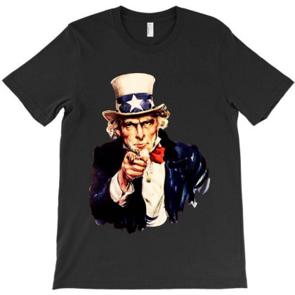 Uncle Sam T-shirt Designed By Kathrin Sutter