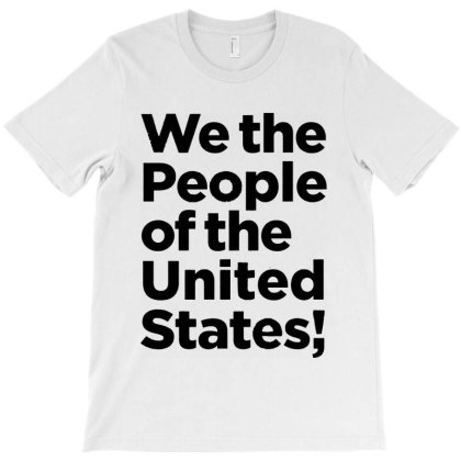 We Are The People Of The United States And We Vote T-shirt Designed By Kathrin Sutter