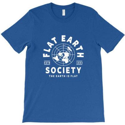 Flat Earth T-shirt Designed By Naura Prisillya