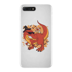 halloween pug and dinosaur iPhone 7 Plus Case | Artistshot