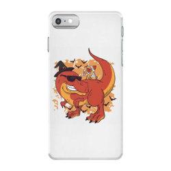 halloween pug and dinosaur iPhone 7 Case | Artistshot