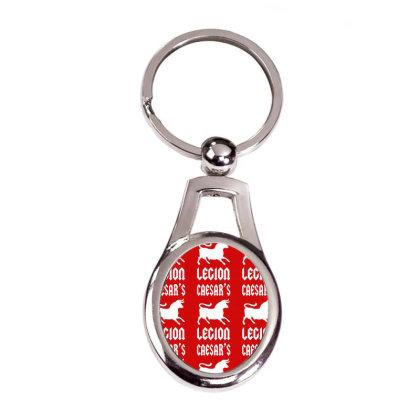 Caesars Legion Silver Oval Keychain Designed By Tshiart
