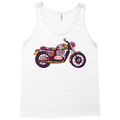 Hippie Motorcycle Tank Top Designed By Zizahart