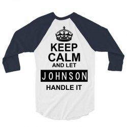 johnson 3/4 Sleeve Shirt   Artistshot