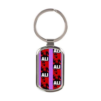 Muhammad Ali Rectangle Keychain Designed By Tshiart