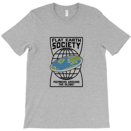 Flat Earth T-shirt Designed By Dhita Irwanda