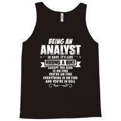 being an analyst Tank Top   Artistshot