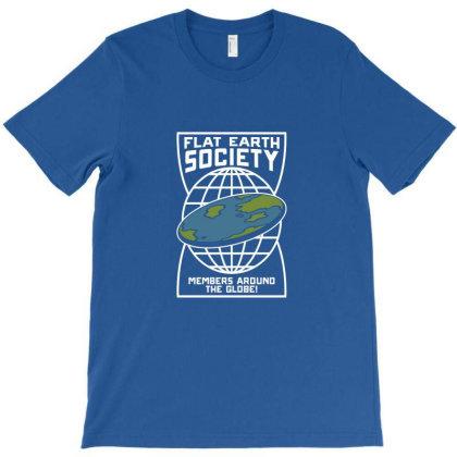 Flat Earth T-shirt Designed By Elga Vaniaputri