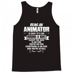 being an animator Tank Top   Artistshot