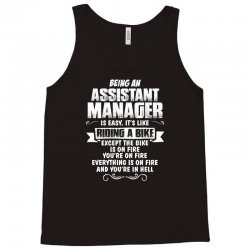 being an assistant manager Tank Top | Artistshot