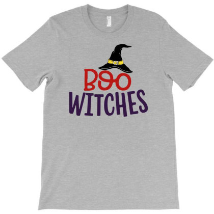 Boo Witches T-shirt Designed By Sengul