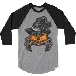 Halloween pumpkins 3/4 Sleeve Shirt | Artistshot