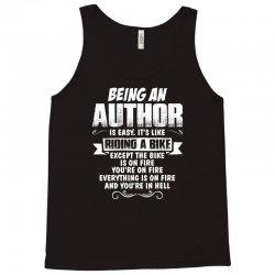 being an author Tank Top | Artistshot
