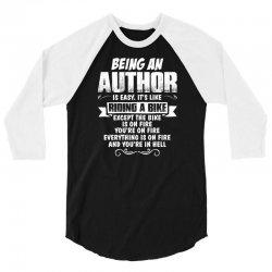 being an author 3/4 Sleeve Shirt | Artistshot