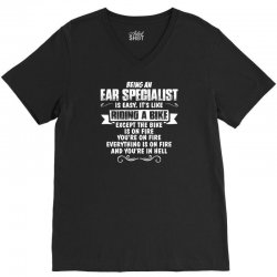 being an ear specialist V-Neck Tee | Artistshot
