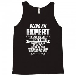 being an expert Tank Top | Artistshot