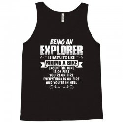 being an explorer Tank Top | Artistshot
