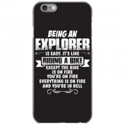 being an explorer iPhone 6/6s Case | Artistshot