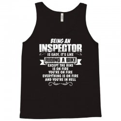 being an inspector Tank Top | Artistshot