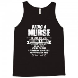 being a nurse Tank Top | Artistshot