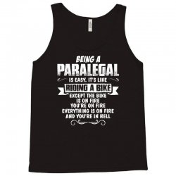 being a paralegal Tank Top | Artistshot