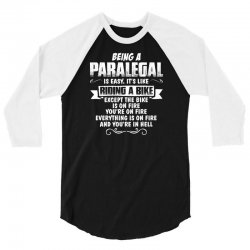 being a paralegal 3/4 Sleeve Shirt | Artistshot