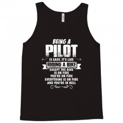 being a pilot Tank Top | Artistshot