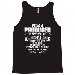 being a producer Tank Top | Artistshot