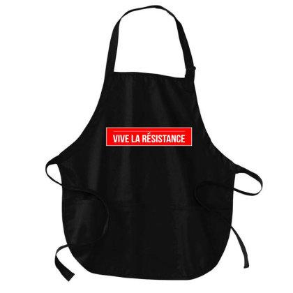 Vive La Resistance Logo Medium-length Apron Designed By Hanni Veronica