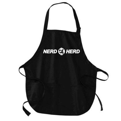 The Nerd Herd Medium-length Apron Designed By Firework Tess