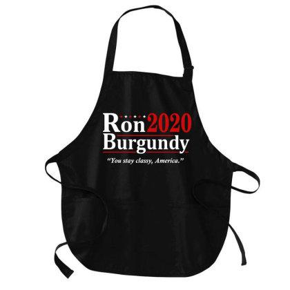 Ron Burgundy 2020 Election Medium-length Apron Designed By Mito220