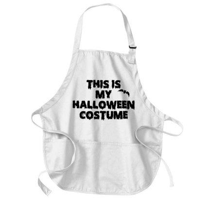 This Is My Halloween Costume Medium-length Apron Designed By Firework Tess
