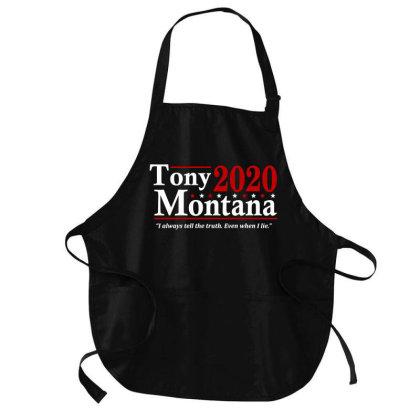 Tony Montana 2020 Election Medium-length Apron Designed By Firework Tess