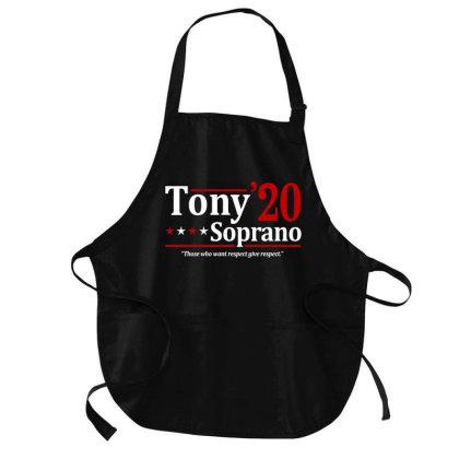 Tony Soprano 2020 Election Medium-length Apron Designed By Firework Tess
