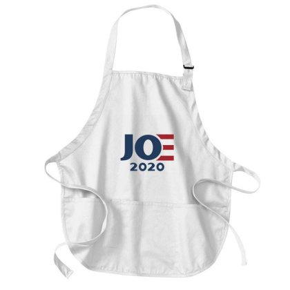 Joe 2020 Elections Red & Blue Medium-length Apron Designed By Qudkin