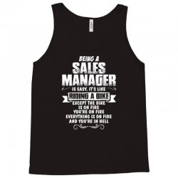 being a sales manager Tank Top | Artistshot