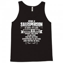 being a salesperson Tank Top | Artistshot