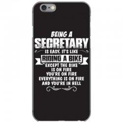 being a secretary iPhone 6/6s Case   Artistshot