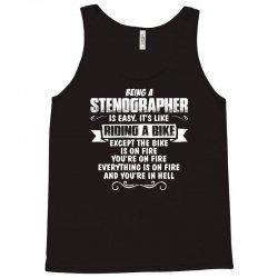 being a stenographer Tank Top | Artistshot