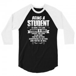 being a student 3/4 Sleeve Shirt | Artistshot