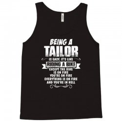 being a tailor Tank Top | Artistshot