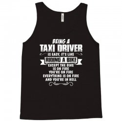 being a taxi driver Tank Top | Artistshot
