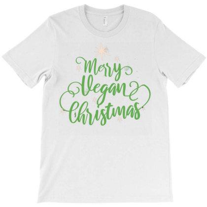 Merry Vegan Christmas T-shirt Designed By Zizahart