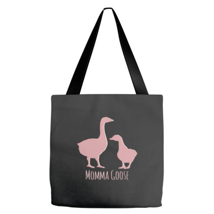 Momma Goose Tote Bags Designed By Zizahart