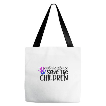 Save Our Children End Child Trafficking Awareness Gift Tote Bags Designed By Mrt90